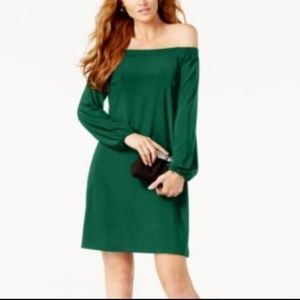 International Concepts Off--Shoulder Shift Dress